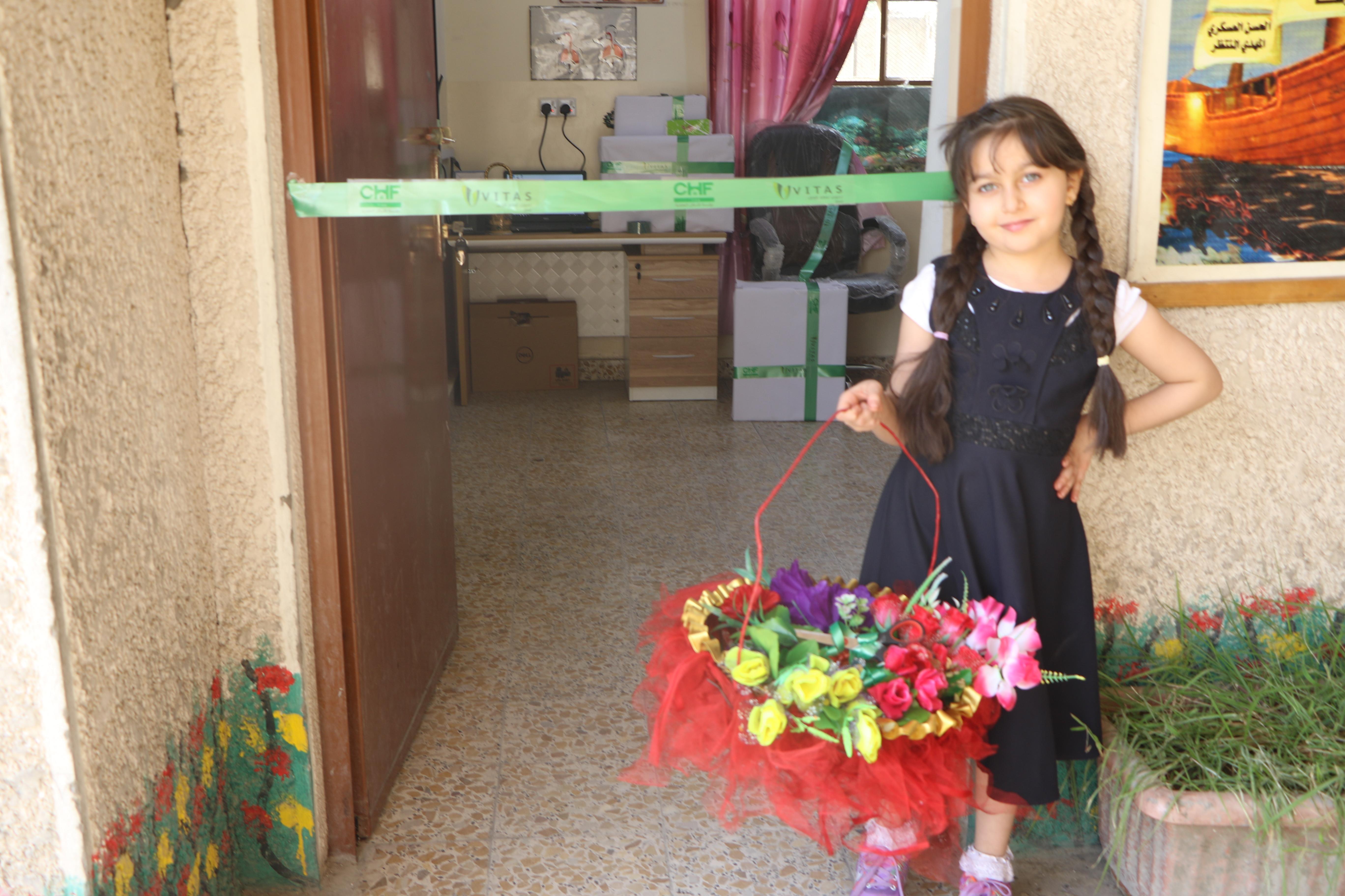 community events - تجهيز مدرسة نور الحسين