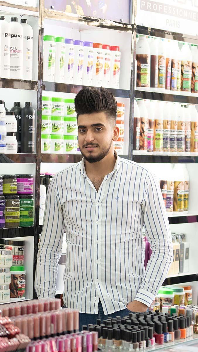 success story - Kassem Jassim Sadiq - Baghdad
